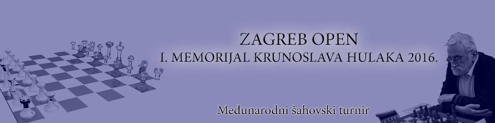 Zagreb Open I. Memorijal Krunoslava Hulaka 2016